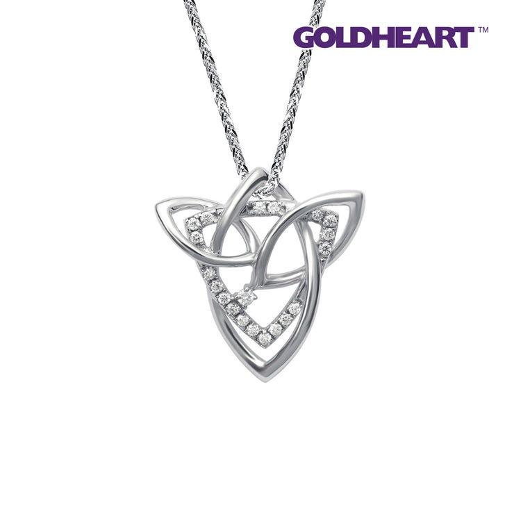 Eternal Romance Diamond Pendant | Goldheart White Gold 750 (18K) (P5950)