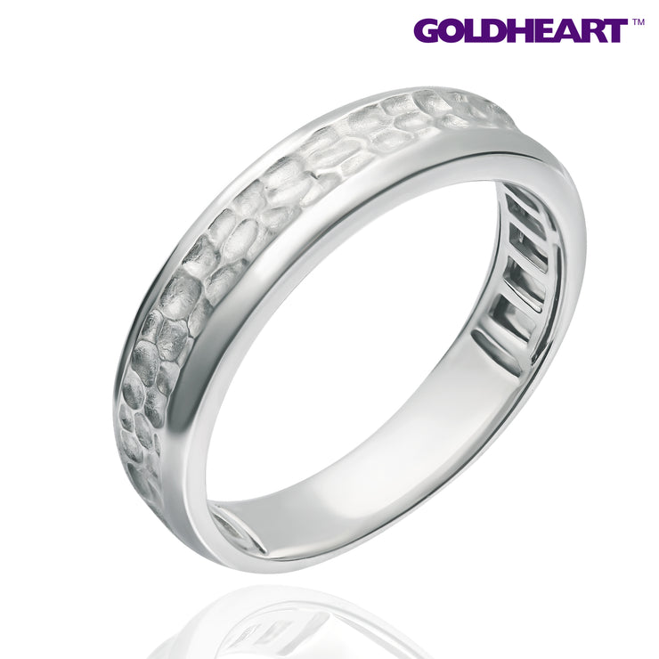 Promesse Male Diamond Ring | Tomei White Gold 750 (18K) (R5144V)