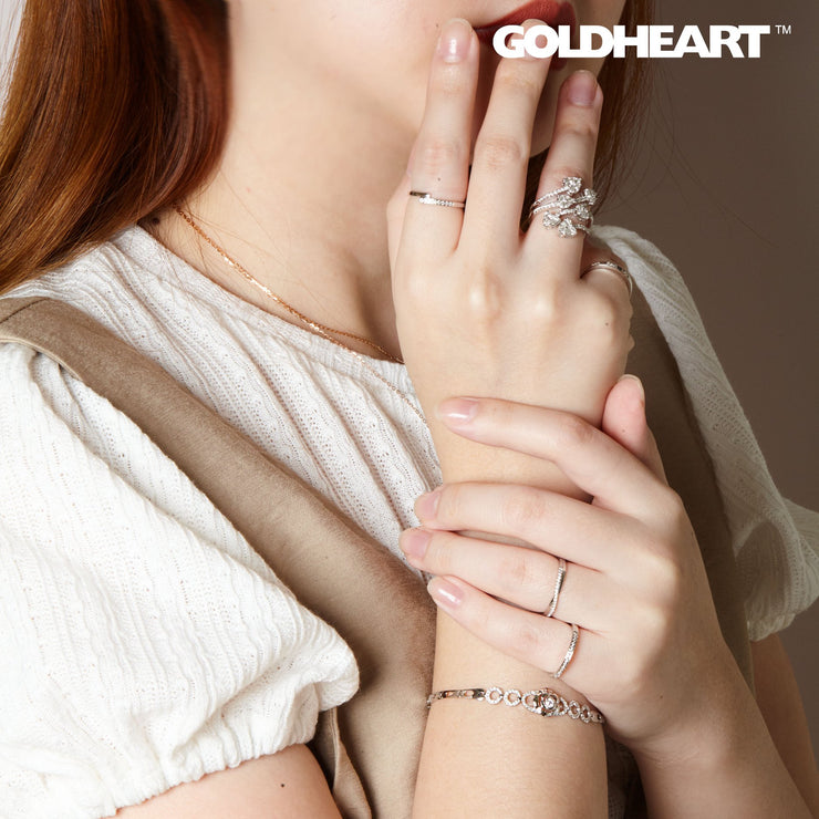 Diamond Bracelet | Goldheart  White Gold 750 (18K) (SB-MB0020+1)