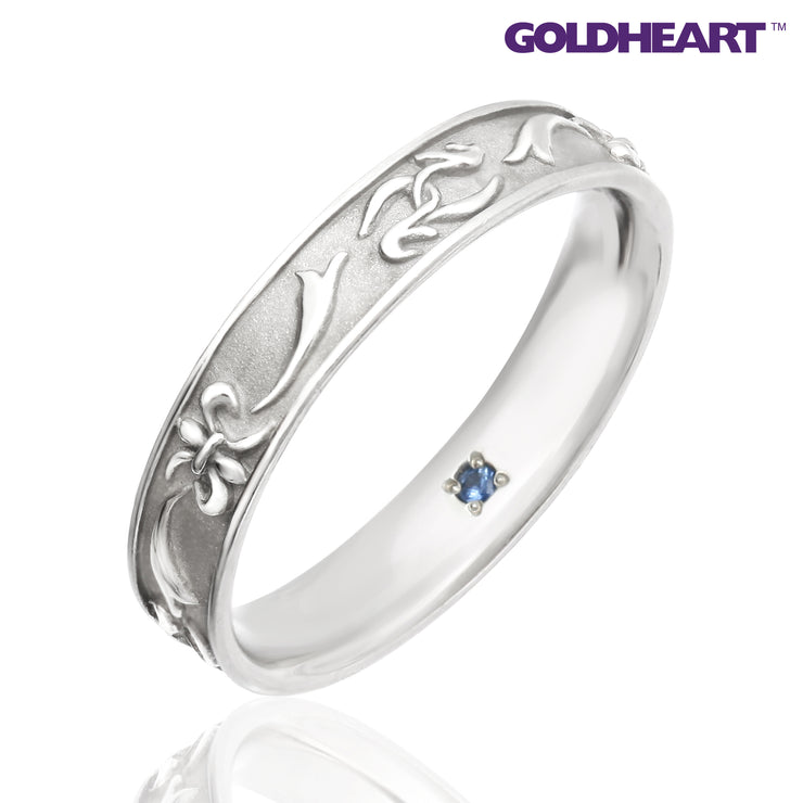 GOLDHEART PT1000 Platinum Diamond Ring (SP-762)