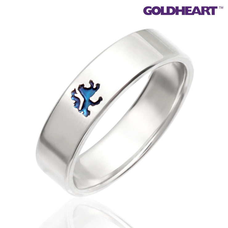 Platinum Diamond Ring | Goldheart PT1000  (SP-764)