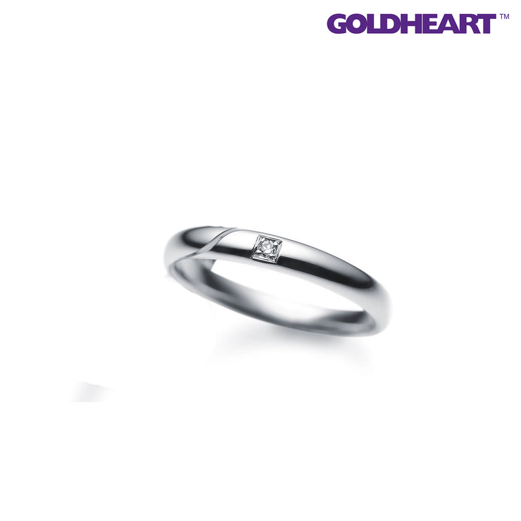 Something Blue Sapphire Ring | Goldheart Platinum 900 (SP-780)