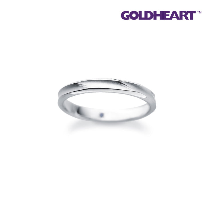 Something Blue Sapphire Ring | Goldheart Platinum 1000 (SP-746)