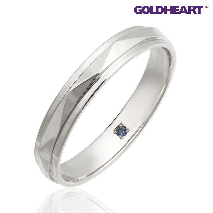 GOLDHEART PT1000 Platinum Diamond Ring (SP-808)