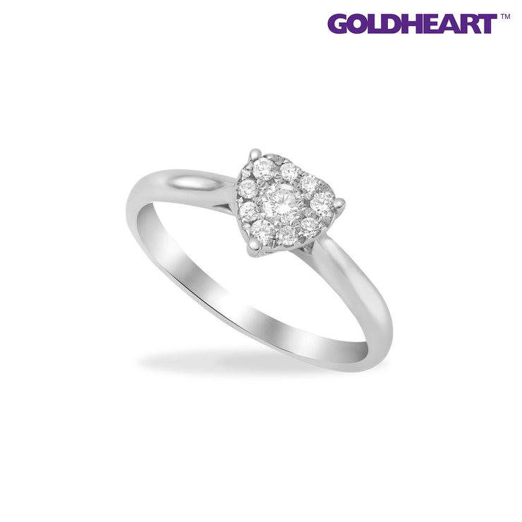 Endless Love Diamond Ring | Goldheart White Gold 750 (18K) (STR5026)