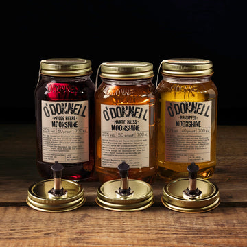 O'Donnell Moonshine - Set groß (3x700ml + 3xAusgießer)