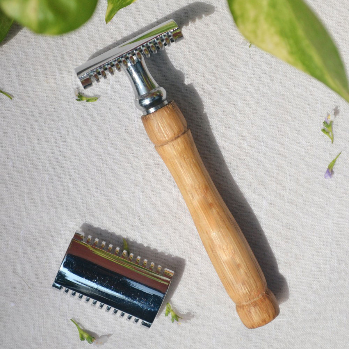 Bamboo Safety Razors Pack of 1 (Eco-Friendly)