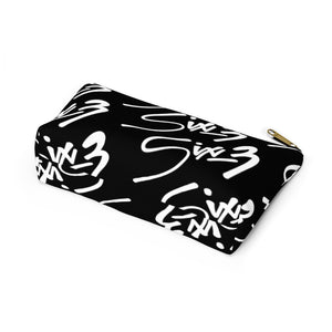 Makeup Pouch w T-bottom