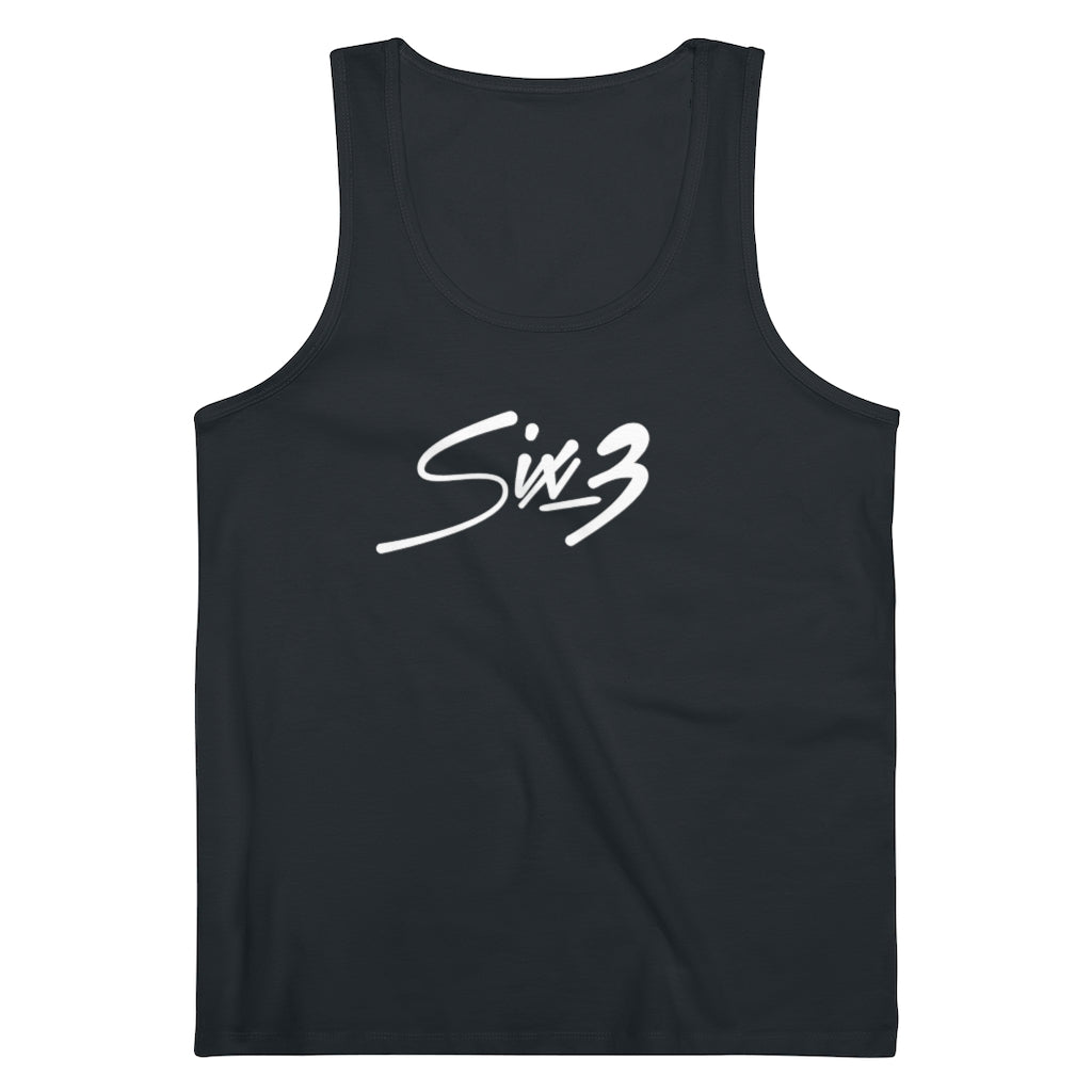 Six 3 Logo Tank Top