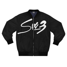 Load image into Gallery viewer, Six 3 Logo Bomber Jacket