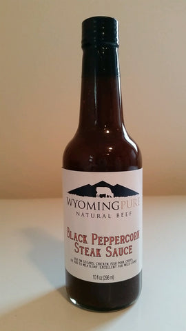 Wyoming Pure Black Peppercorn Steaksauce