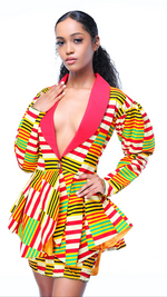 Load image into Gallery viewer, Accra Peplum 2 Piece Set