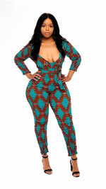 Load image into Gallery viewer, Sikitu Belt Jumpsuit