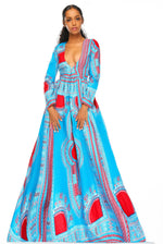 Load image into Gallery viewer, Ezichi Maxi Dress