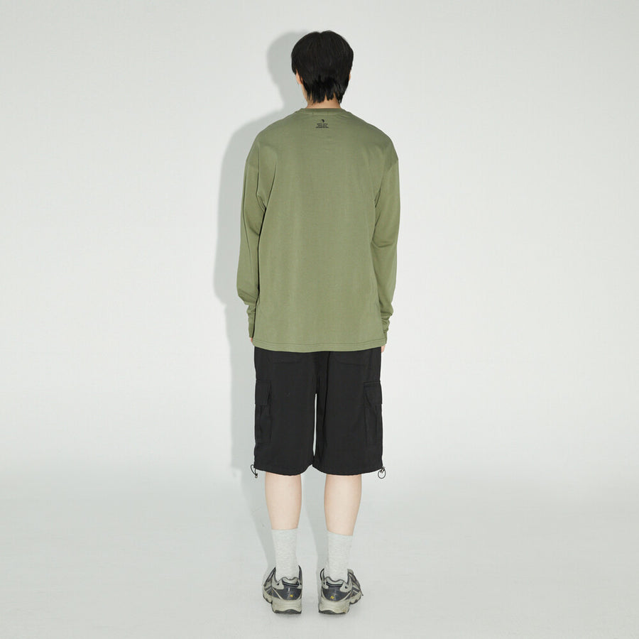 Wasted Bear Long Sleeve - Khaki