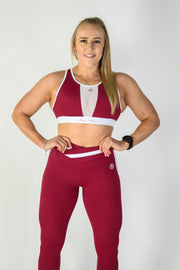 Sports Bra Maroon
