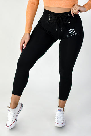 Waist Belt Leggings