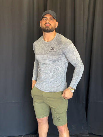 All Day Everyday shorts - Olive Green
