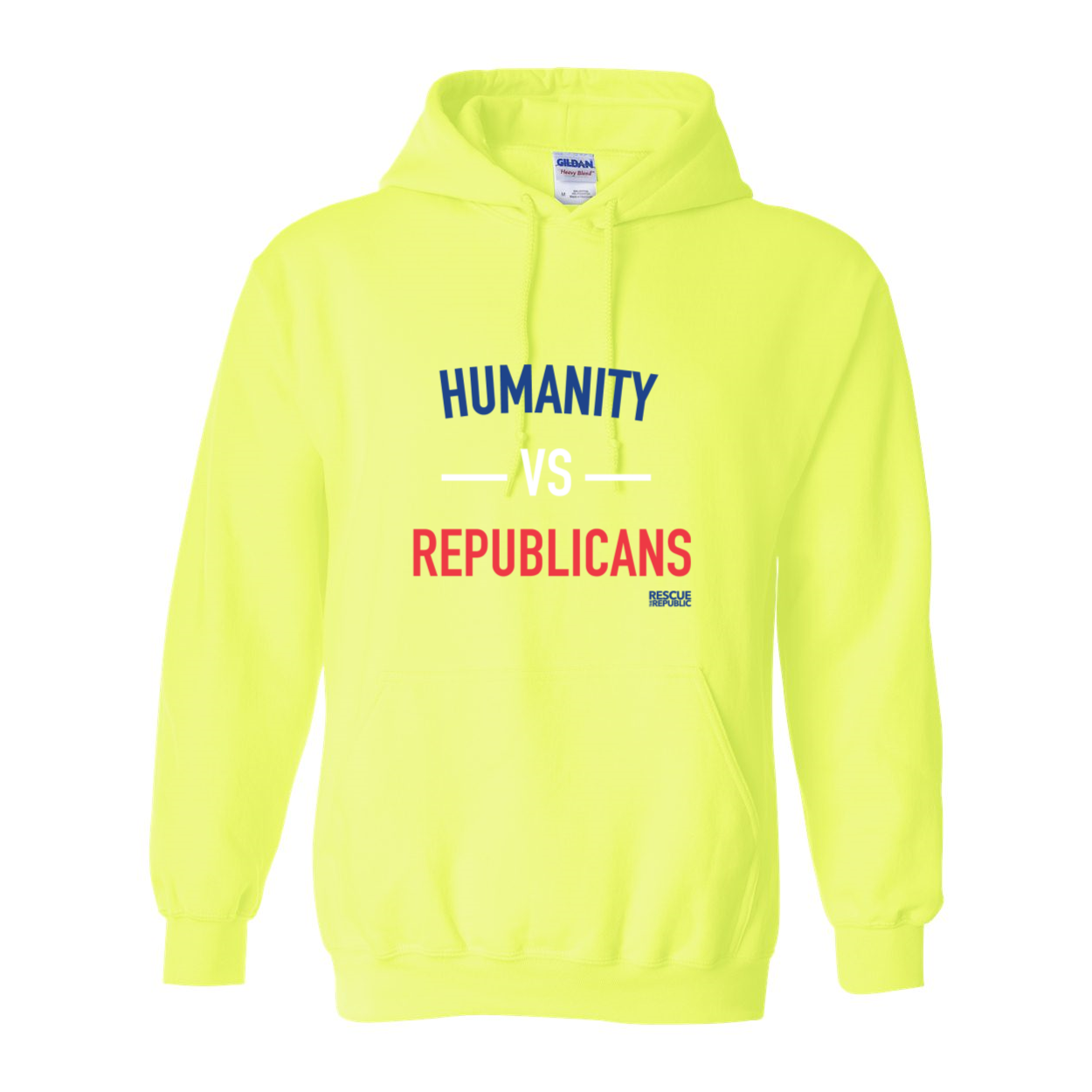 Humanity VS Republicans Hoodie Sweatshirt