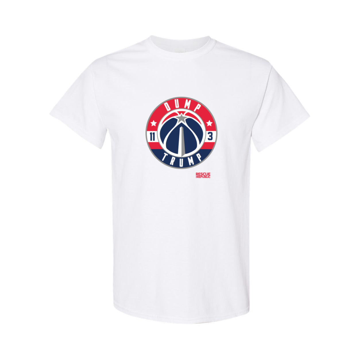 Dump Trump DC Hoops T-Shirt
