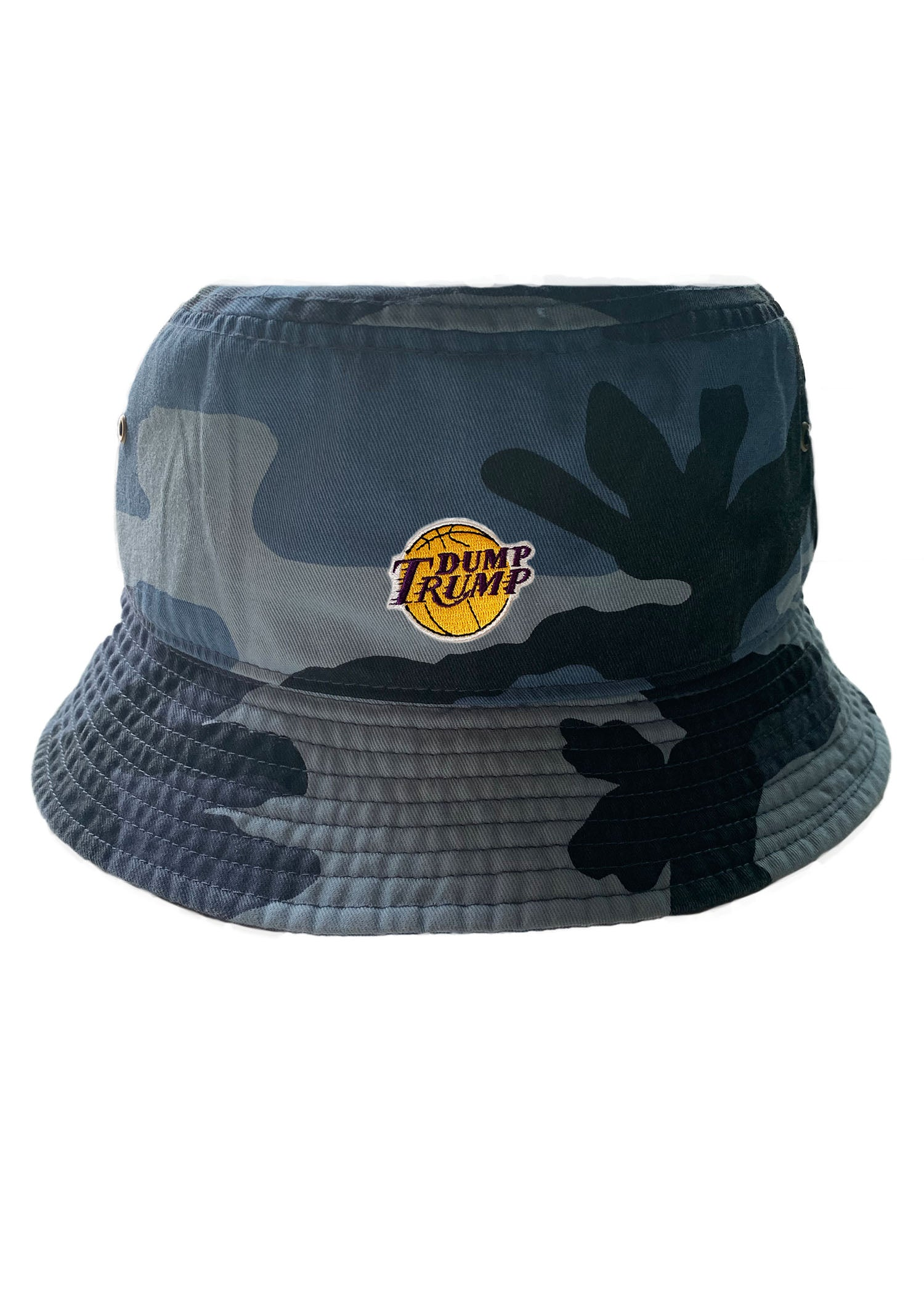 Dump Trump LA Hoops Bucket Hat