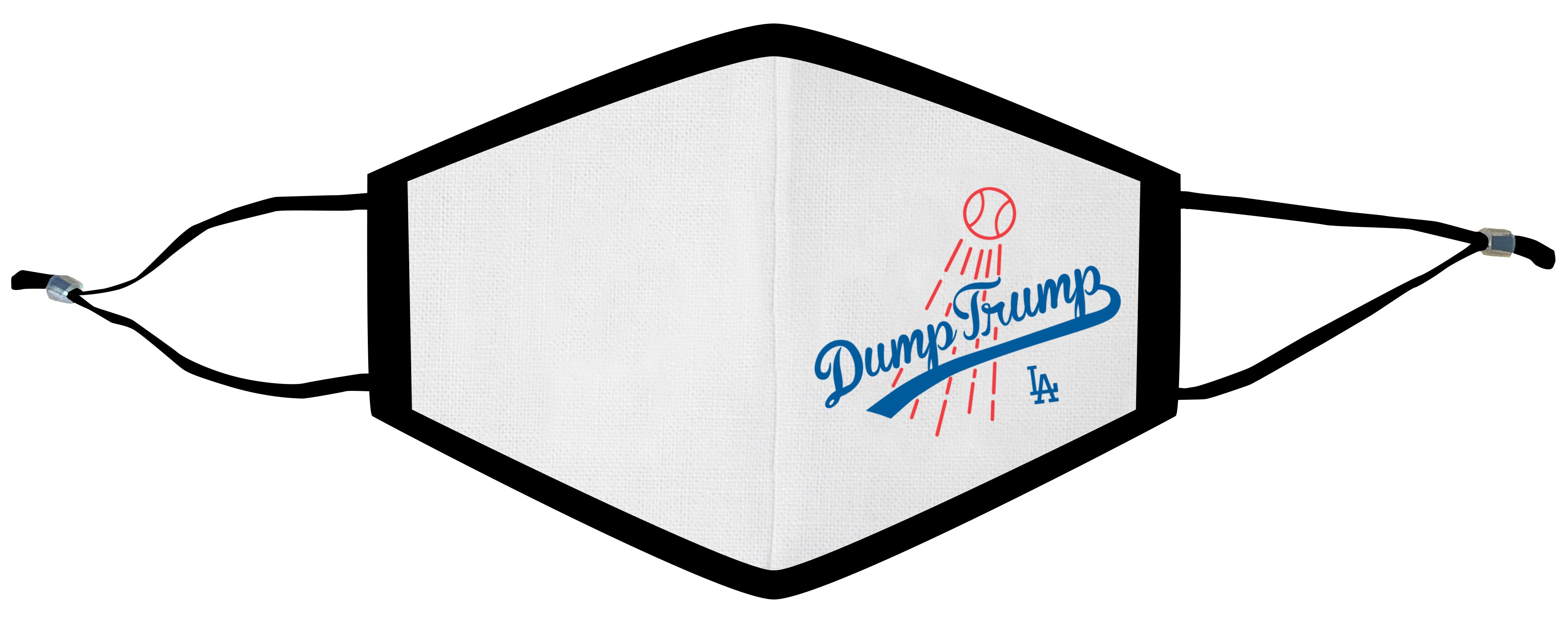 Dump Trump LA Fences Face Mask