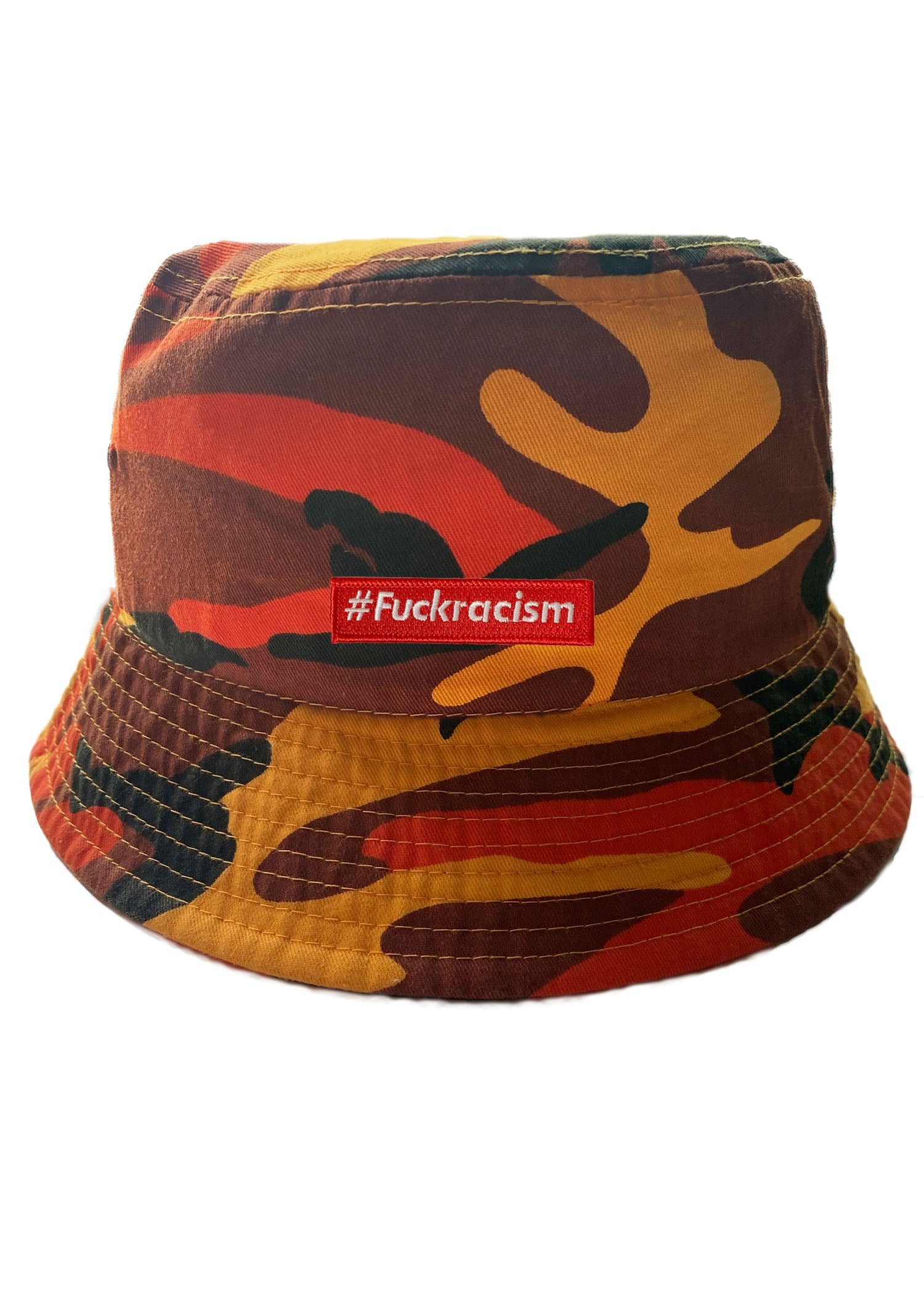 Fuck Racism Bucket Hat