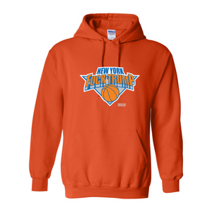 Fuck Trump NY Hoops Hooded Sweatshirt