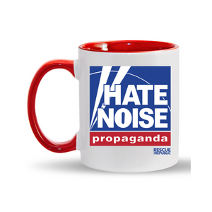 Hate Noise Ceramic Coffee Mug