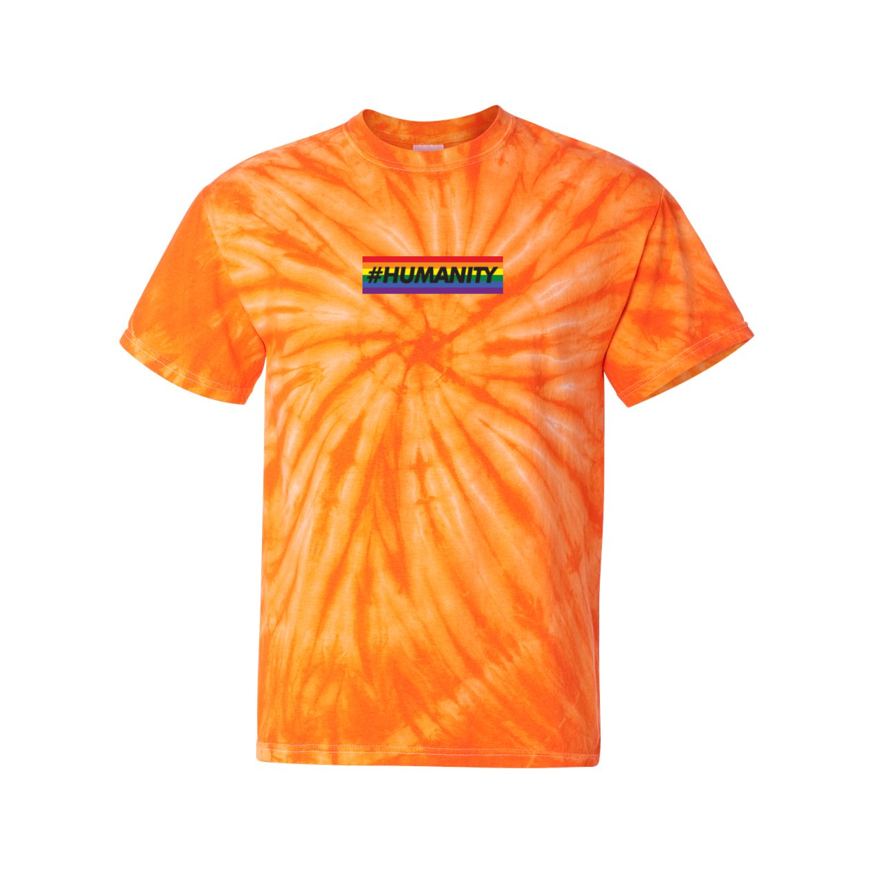 Humanity Bar Tie Dye T-Shirt
