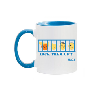 Lock Them Up Collectible Coffee Mug