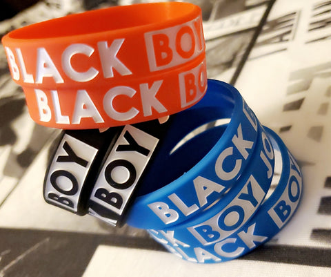 Black Boy Joy Wristbands