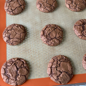 May 2021 Brownie Cookies + Blush Frosted Sugar Cookies