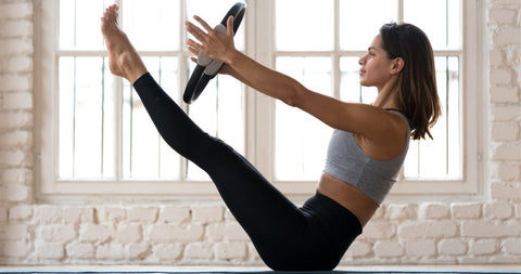 pilates teaser exercises are repeated more in the strength pilates mat class in SG