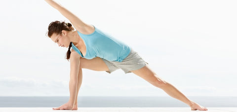 bodyweight exercise stretch normally done in a yoga class