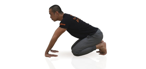 wrist extension stretch for handstand training