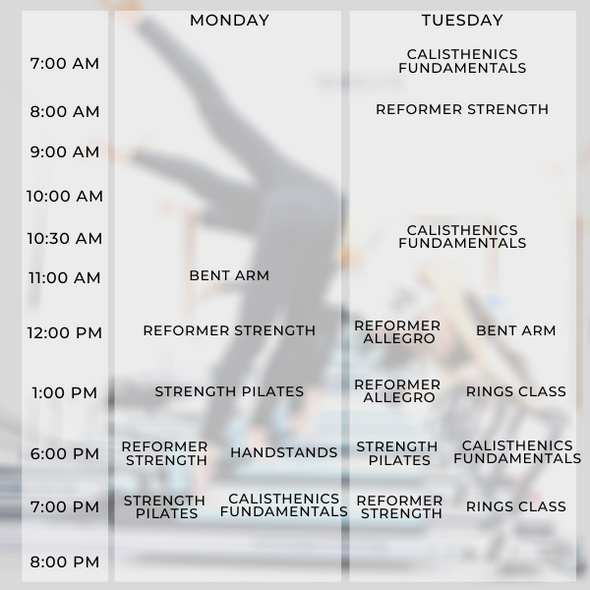 25-session Reformer Group Package