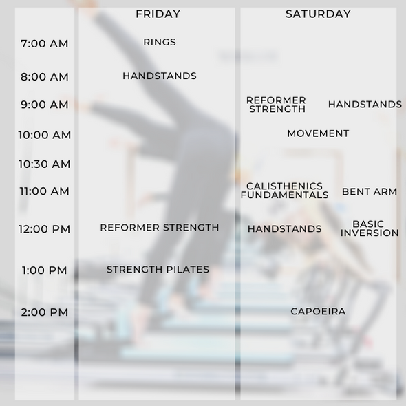 10-session Reformer Group Package
