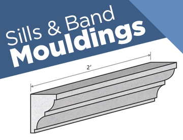 Sills & Band Mouldings
