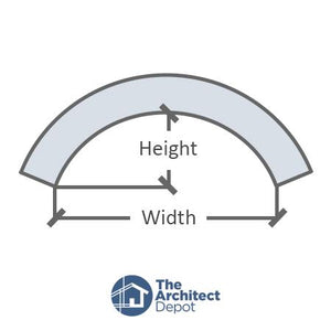 Trim (Limestone Finish) Arches Mouldings