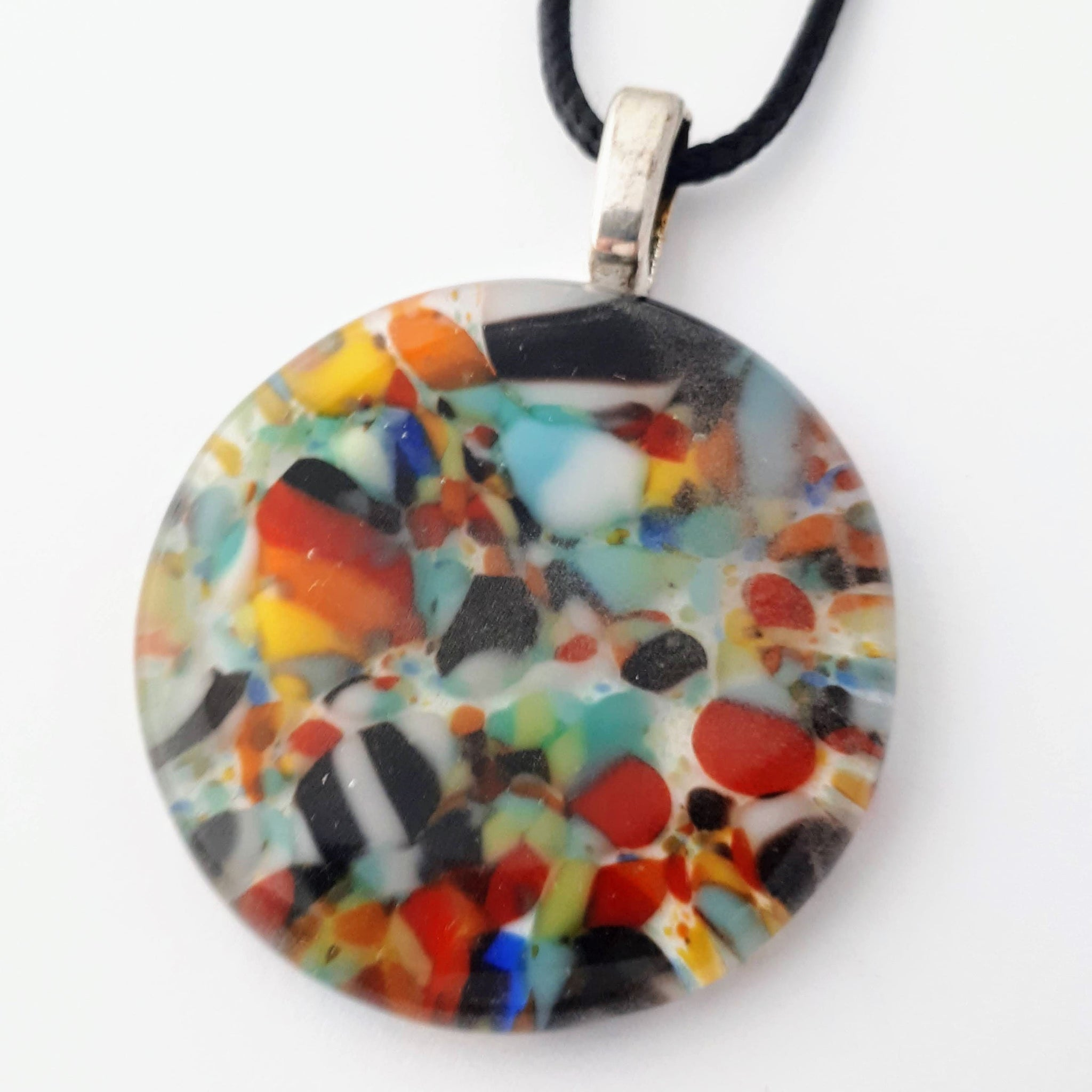 Colourful Round Glass Pendant | Kitchen Sink Collection