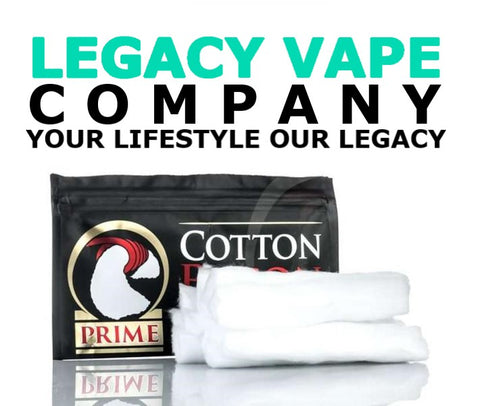 cotton bacon prime (does not taste like bacon) legacy vape company