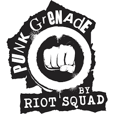 Punk Grenade by riot Squad available at legacyvapecompany.com.au