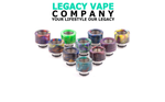 510 drip tip resin/stainless steel