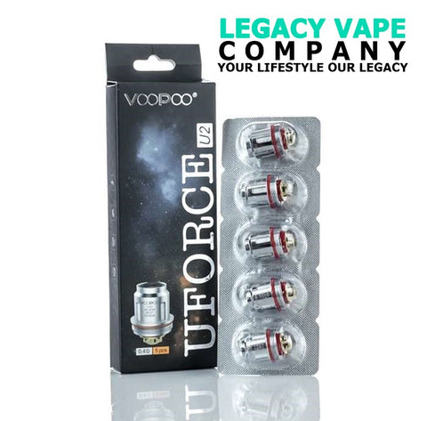 Voopoo Uforce coils 5 pack legacy vape company