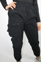Load image into Gallery viewer, Black Tactical Pants