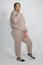 Load image into Gallery viewer, Nude Sweatsuit Set
