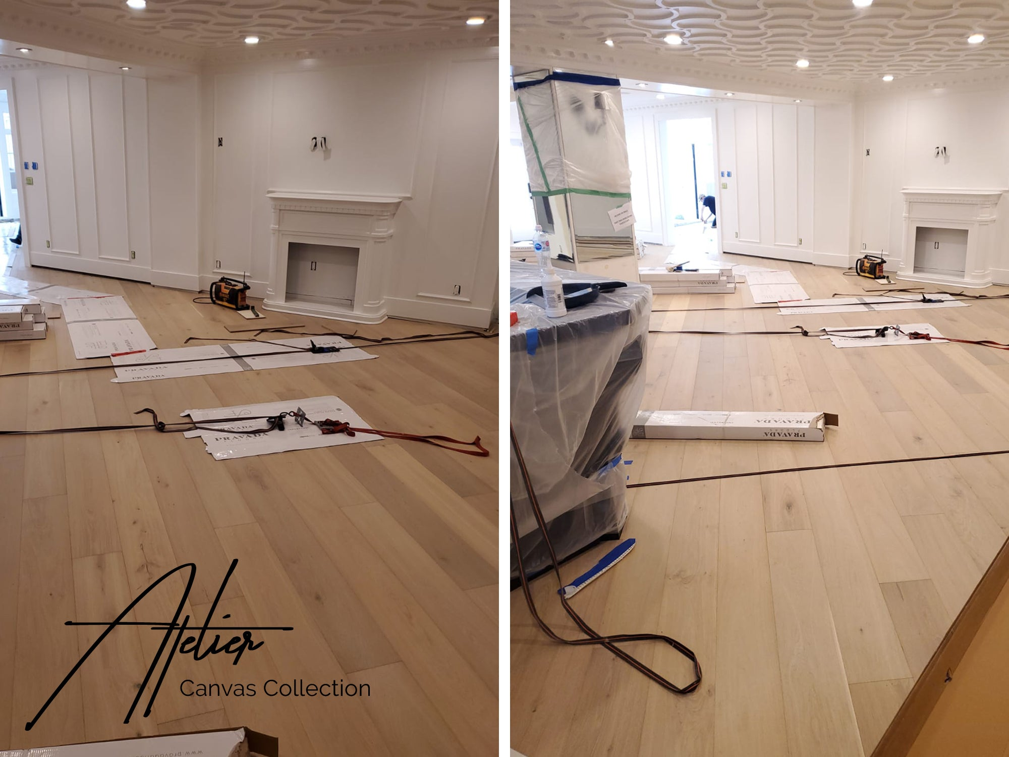 Track Lighting Angles VS Wood Floors feat. ATELIER by Pravada Floors