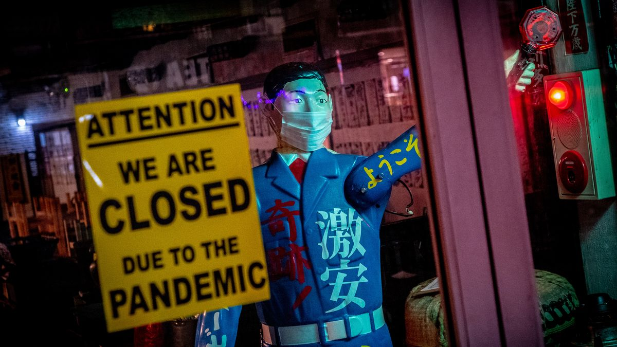 NYC Closed due to pandemic