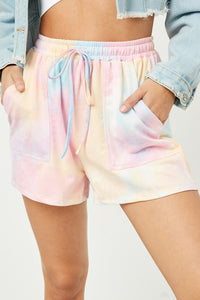 Sherbert Dreams Tie Dye Shorts